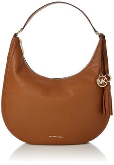 MICHAEL Michael Kors Womens Medium Lydia Hobo Bag Acorn One Size * Be sure to check out this awesome product. (This is an affiliate link) Satchel Handbags, Handbags Michael Kors, Michael Kors Bag, Types Of Purses, Shopping Chanel, Michael Kors Shoulder Bag, Work Bags, Vintage Chanel, Online Bags