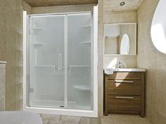 Acrylic Shower Stall | Bathroom Renovation Inspiration | Pinterest | Shower  Ideas Bathroom, Bathroom Renos And Showers