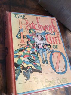 Antique Wizard of Oz * Patchwork Girl of OZ BOOK by Frank Baum