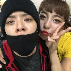 f(x)'s Amber came to support Luna on her recording ~ Wonderful Generation
