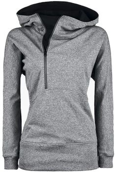 Go for a morning run, hang around the house or go to the gym in this awesome half zip hoodie. P.S. it's nursing friendly. Heather Grey color, fabric content 95% cotton & 5% spandex. *please note: the