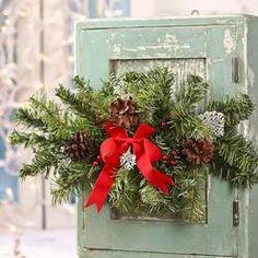 Artificial Christmas Pine Swag