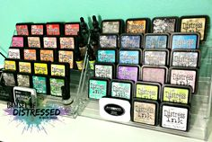 Storage for Tim Holtz Distress Inks and Reinkers