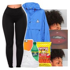 """""""Going out with bae and the fam"""" by chrissyjayy ❤ liked on Polyvore featuring HUF and Casetify"""