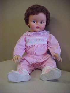 1959-60 IDEAL SUZY PLAYPAL DOLL IN NICE CONDITION 28 INCHES TALL  $204