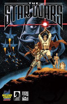 La Guerra de las Galaxias que PODRÍA HABER SIDO con la edición de The #StarWars, adaptación del primer guión ideado por George Lucas para la saga espacial