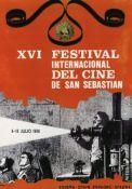San Sebastian & International Film Festival poster 1968