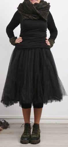 rundholz black label - Shirt Langarm Cotton black - Winter 2018