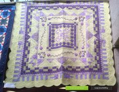 Client quilt -Custom Quilted by LJQ