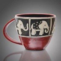 Round Elephant Mug