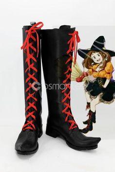 My Hero Academia Uraraka Ochaco Cosplay Boots Miku Cosplay, Cosplay Wigs, Cosplay Costumes, Cosplay Boots, Magical Girl, My Hero Academia, Dress Making, Calves, Fashion
