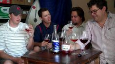 Awesome Wine Weirdos try and compare two California Rose Wines, Sans Liege and Paul Masson