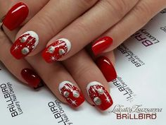 Fall Nail Art, Cute Nail Art, Beautiful Nail Art, Xmas Nails, Holiday Nails, Christmas Nails, Fingernail Designs, Gel Nail Designs, Fancy Nails