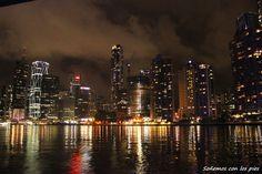 La noche de Brisbane, Australia