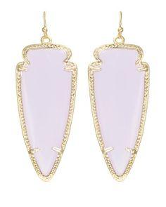 Kendra Scott ear party-Skylar Earrings in Lilac