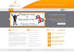 Dyal Formation - idéveloppement : création de site internet bordeaux #webdesign #frontend #backend