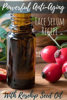 Fighting wrinkles doesn't have to be expensive. Check out the rosehip oil benefits for skin and make anti-aging serum today. Fighting wrinkles doesn't have to be expensive. Check out the rosehip oil benefits for skin and make anti-aging serum today. Crema Facial Natural, Natural Skin Care, Organic Facial, Natural Face, Anti Aging Tips, Anti Aging Skin Care, Bio Cosmetics, Rosehip Oil Benefits, Rosehip Seed Oil
