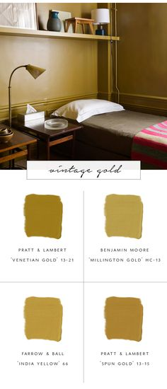 our top favorite paint color trends for fall 2017 - vintage gold   coco kelley