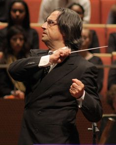 Riccardo Muti. He's intense live--so energetic and physically expressive...