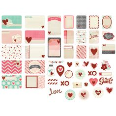 Becky Higgins Project Life Love Notes Value Kit