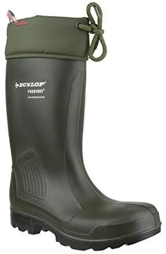 1679ee4e81414c Dunlop Mens   Ladies Warm Thermoflex Insulated SRA Safety Welly Boots -  Chaussures dunlop (
