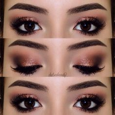 Instagram media by chelseabeauty_ - Hot & Cold  | Anastasia Beverly Hills Self Made Palette Sherbert, Hot Chocolate, Hot and Cold, Spirit Rock & Treasure | Maybelline Eye Studio Gel Liner | Ardell Demi Wispies | Chi Chi Brow Pomade in Medium Brown | #chelseabeauty_ to be featured