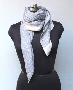 Woolen Scarf / Women's / Men's Scarves / Pure Natural Soft Wool Flax Lightweight Raw Genuine / Fashion Accessories Gifts for Her/ Him Woolen Scarves, Wool Scarf, Men's Scarves, Retro Fashion, Womens Fashion, Vintage Wool, Dress Codes, Victorian Fashion, Beautiful Outfits