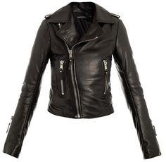 Balenciaga The Classic Leather Biker Jacket