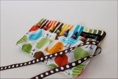 Very cute for bringing crayons and art supplies on the go!