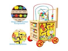 Pre Order Special - Expected shipping date is the of May. Please note, this is an estimate and the actual date may vary a few days either way. Activity Cube, Activity Centers, Shipping Date, Creative Play, Toddler Activities, Toy Chest, Shapes, Storage, Centre