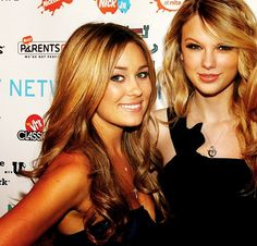Lauren Conrad and Taylor Swift