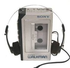 """The Walkman. I remember when this was cool. Also when the """"discman"""" became popular and the walkman was out-dated. Today's kids and their ipods/iphones will have no clue. I totally remember delivering newspapers listening to tapes on my walkman! My Childhood Memories, Childhood Toys, Sweet Memories, Childhood Quotes, Memories Box, School Memories, Cherished Memories, Radios, Popular Toys"""