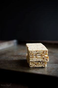 These No-Bake Toasted Coconut Bars are paleo, vegan, gluten-free and beyond delicious.