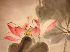 this is part of my painting, lotus