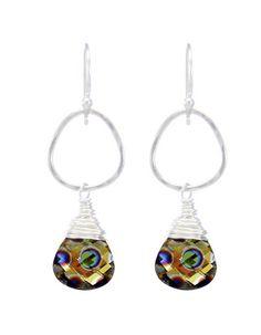 Moonrise Jewelry - Nile Earrings- Peacock
