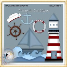 Out to the Sea Clipart