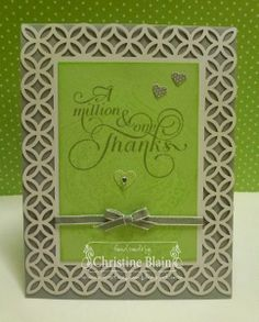 STAMPIN' UP!'S SIMPLY FABULOUS SIMPLY SENT CARD 1