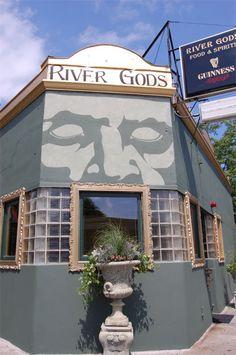 River Gods, Central Square, Cambridge, MA.
