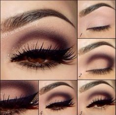 Want to try this my MAC burgundy color palette.