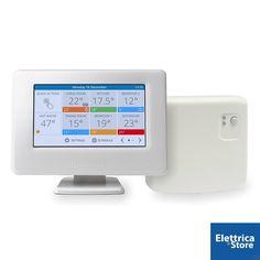 Con i #termostati #wifi si può regolare l'impianto di riscaldamento di casa da smartphone o tablet: impostare la temperatura, programmare l'accensione e spegnimento e molto altro.