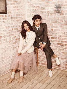Park Shin Hye ☆ #Kdrama and Miura Haruma for Ceci , September 2013