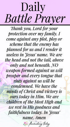 Bible Verse Of The Day:What do you do when you see signs of a spiritual attack? As Christians we've been giving everything we need in scripture to fight the enemy. Here are some bible verses and biblical truths to help you fight spiritual attacks. Prayer Scriptures, Bible Prayers, Faith Prayer, God Prayer, Prayer Quotes, Power Of Prayer, Bible Verses, Quotes Quotes, Wisdom Quotes