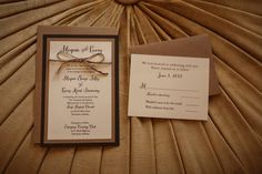 Kraft and Woodgrain Paper Wedding Invitations and Response Cards with Twine from Wiregrass Weddings featured on The Bride Link. Wedding Events, Wedding Ideas, Weddings, Response Cards, No Response, Invitation Ideas, Wedding Paper, Southern Style, Rustic Chic