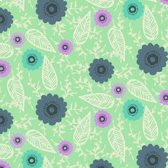 Floral Pattern by Laurence Lavallee www.akaflo.com Manchester, Pattern Art, My Arts, Illustration, Floral, Artist, Flowers, Artists, Illustrations