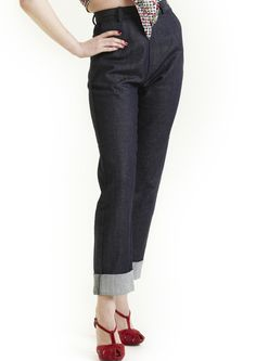 1940s Swing Jeans - Fashion 1930s, 1940s & 1950s style - vintage reproduction