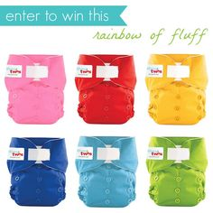 I LOVE itti bitti diapers. I have a couple dozen large, but would love these 1's and 2's