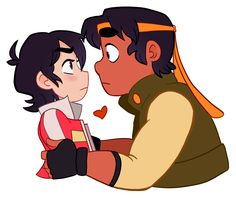 This is cute but I ship KLANCE and I think HEITH is more of a bromance <<< the best of and sometimes-a-little-romantic-that-you're-not-even-sure-anymore kind of bromance Voltron Klance, Hunk Voltron, Voltron Memes, Voltron Fanart, Form Voltron, Voltron Ships, Voltron Paladins, Bubble Drawing, Persona 5 Anime