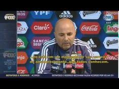 O MESSI É MAIS protagonista na seleção que eu comenta Sampaoli técnico d...