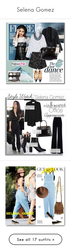 """Selena Gomez"" by idakotajohnson14 ❤ liked on Polyvore featuring CO, Anja, Givenchy, Gabriele Frantzen, Valentino, Magenta, Stila, Nude by Nature, selenagomez and valentino"