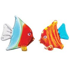 Tropical Art Glass Fish Small Figurines Home Decorating Accent Gift Ideas by The Crabby Nook, http://www.amazon.com/dp/B004EHHEUO/ref=cm_sw_r_pi_dp_VjRRrb1PM2S58